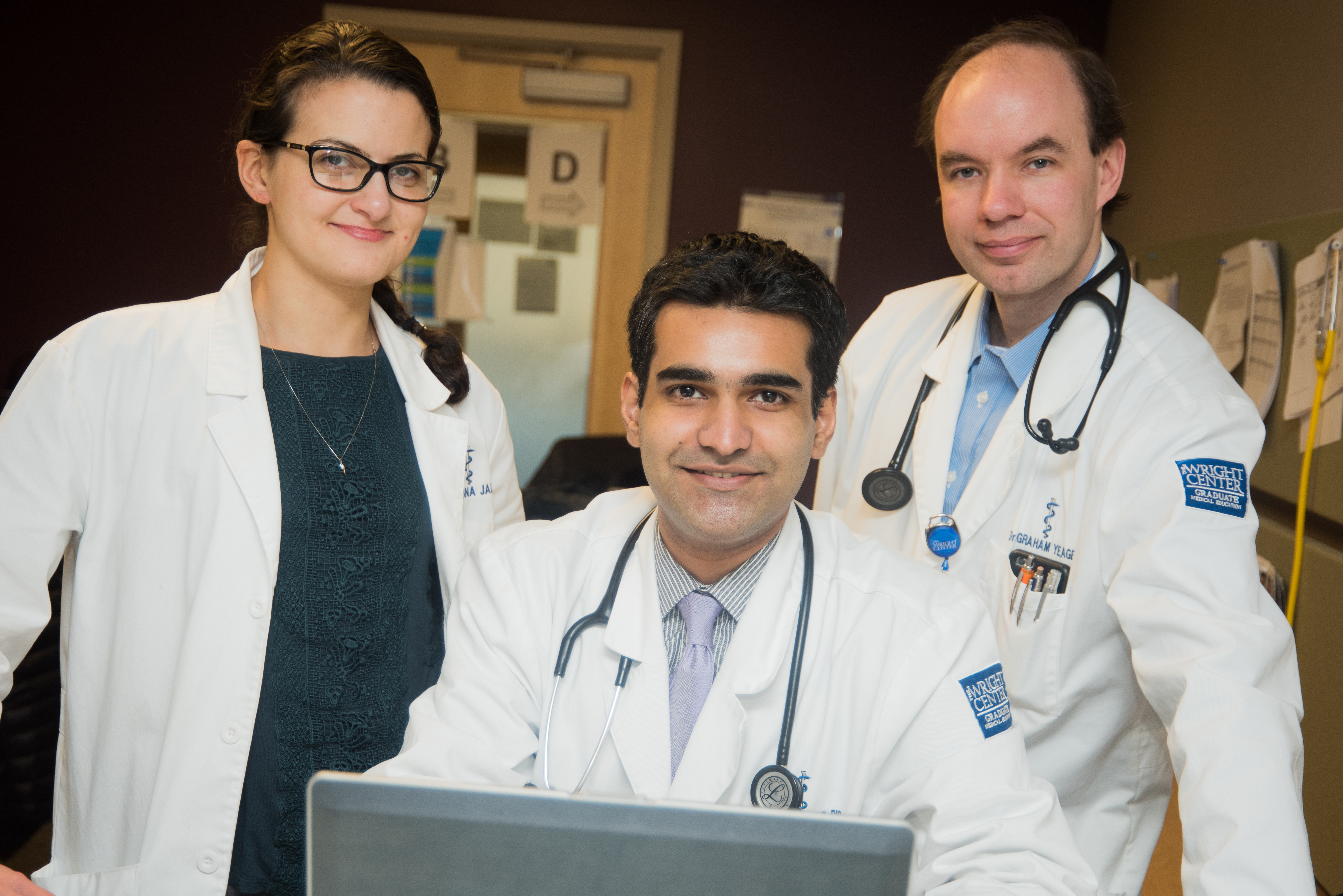 Doctors at The Wright Center for Community Health